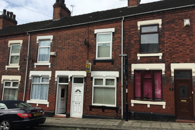 Thumbnail Terraced house to rent in Homer Street, Hanley, Stoke On Trent