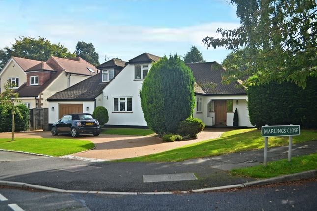 Thumbnail Detached house for sale in Marlings Close, Chislehurst