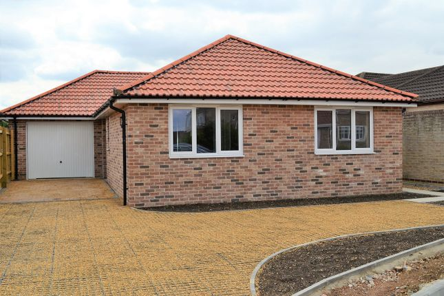 Thumbnail Detached bungalow for sale in Orchard Way, Southery, Downham Market