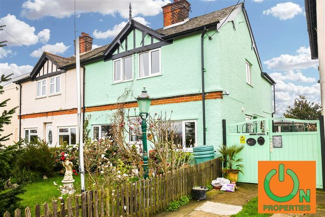 Thumbnail Semi-detached house for sale in Penny Feathers Moreton Road, Fyfield, Ongar