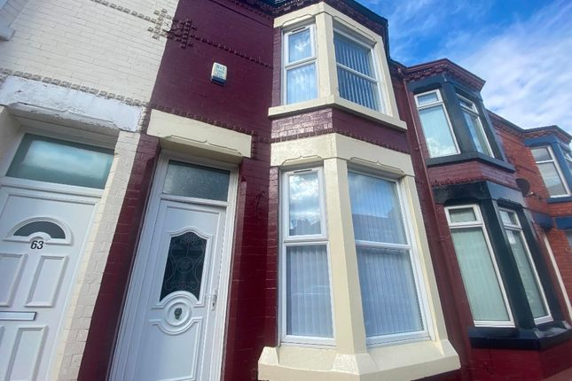 Thumbnail Terraced house to rent in Cowley Road, Walton, Liverpool