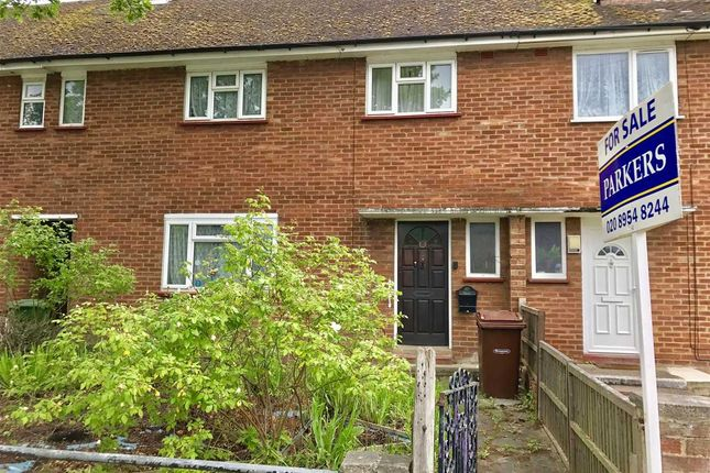 Thumbnail Terraced house for sale in Masefield Avenue, Stanmore