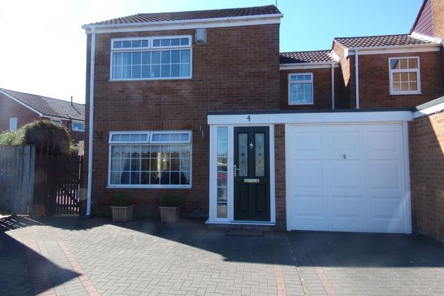 Thumbnail Semi-detached house for sale in Bonchester Close, Bedlington