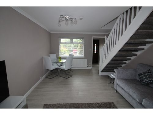 Thumbnail Terraced house to rent in Westfield Drive, Eskbank, Dalkeith