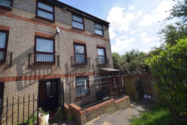 Thumbnail End terrace house for sale in Edmeston Close, London