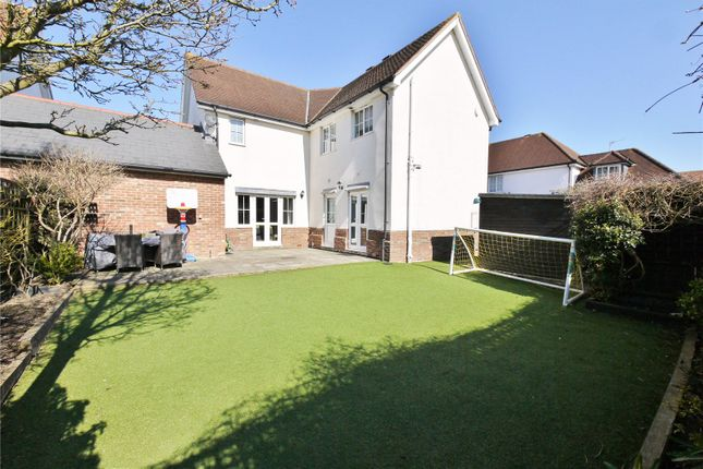 Thumbnail Detached house for sale in Walter Mead Close, Ongar, Essex
