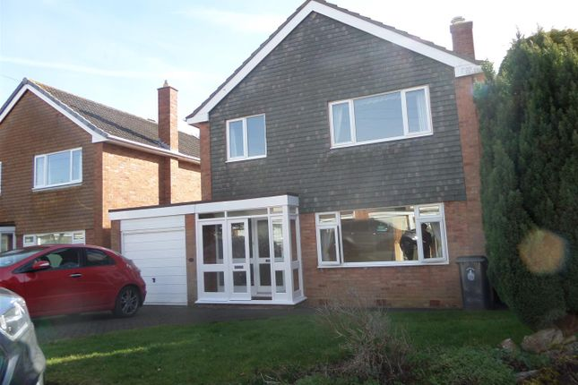 Thumbnail Detached house to rent in Lomax Close, Lichfield