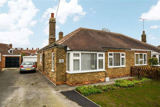 Thumbnail Semi-detached bungalow for sale in Beech Lawn, Anlaby, East Riding Of Yorkshire