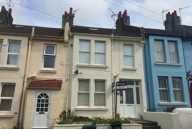 Thumbnail Terraced house to rent in Milner Road, Brighton, East Sussex