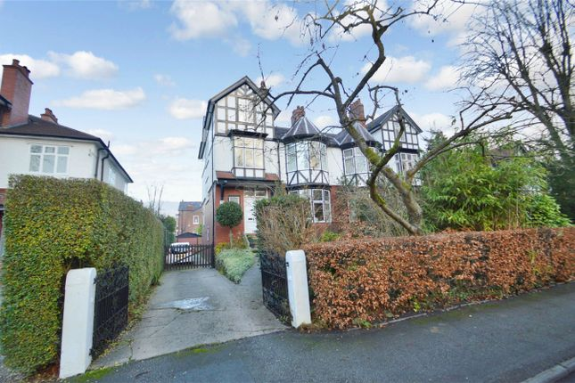 Thumbnail Semi-detached house for sale in Davenport Park Road, Davenport, Stockport, Cheshire
