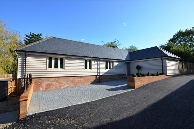 Thumbnail Detached bungalow for sale in Church End, Broxted, Dunmow, Essex