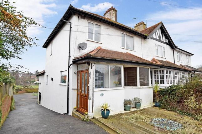 Thumbnail Semi-detached house for sale in Warmdene Road, Patcham, Brighton, East Sussex