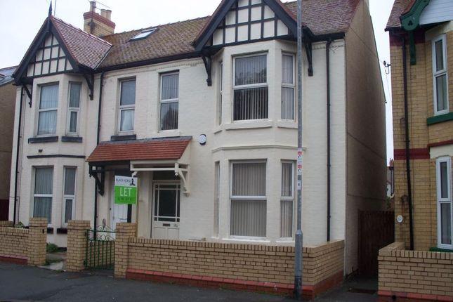 Thumbnail Semi-detached house for sale in Sandringham Avenue, Rhyl