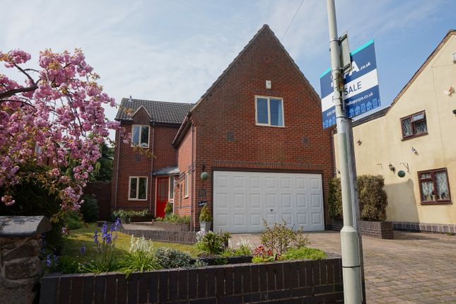 Thumbnail Detached house for sale in St. Christophers Park, St. Christophers Road, Ellistown, Coalville