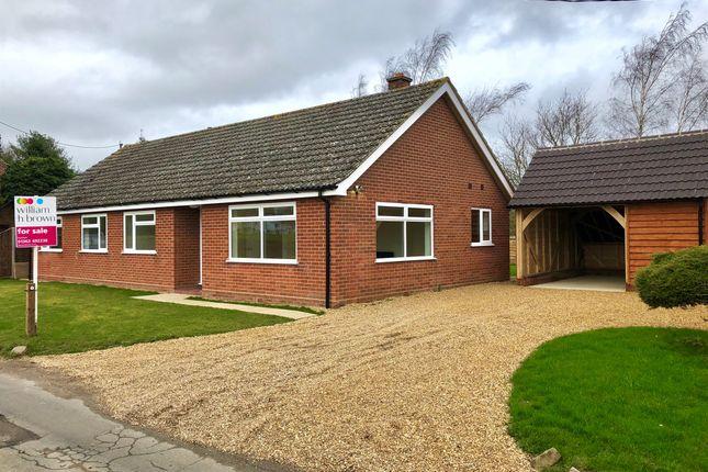 Thumbnail Detached bungalow for sale in Common Road, Welborne, Dereham