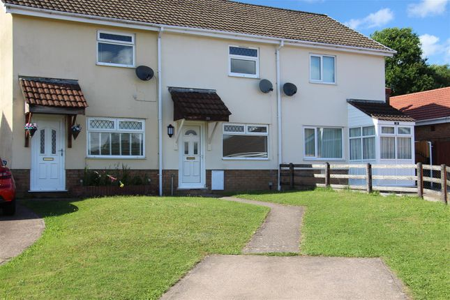 Thumbnail Terraced house to rent in Heol Y Pia, Glenfields, Caerphilly