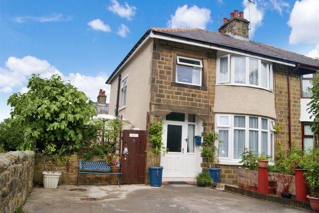 Thumbnail Semi-detached house for sale in Vincent Avenue, Eastburn, West Yorkshire