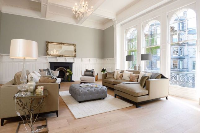 Thumbnail Town house to rent in Manor Place, Edinburgh