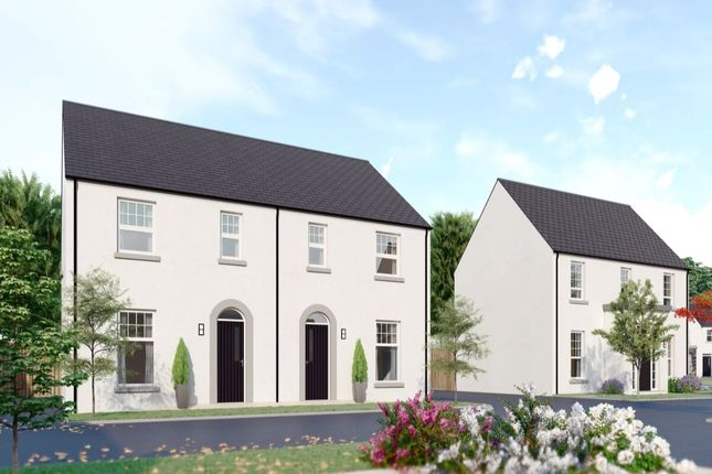 Thumbnail Semi-detached house for sale in Ashbourne Manor, Belfast Road, Carrickfergus