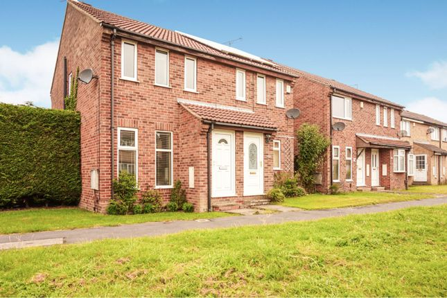 Thumbnail Semi-detached house for sale in Bellhouse Way, York