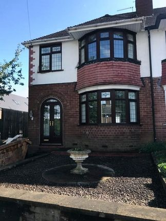 Thumbnail Semi-detached house to rent in Parkes Hall Road, Dudley