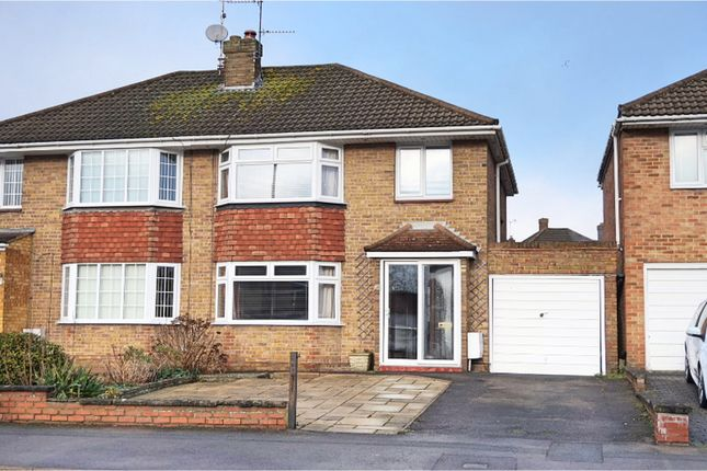 Thumbnail Semi-detached house for sale in Grange Drive, Swindon