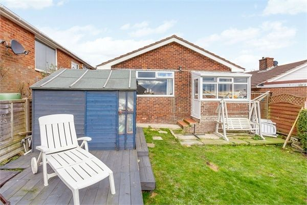 Thumbnail Detached bungalow for sale in Howey Close, Newhaven, East Sussex