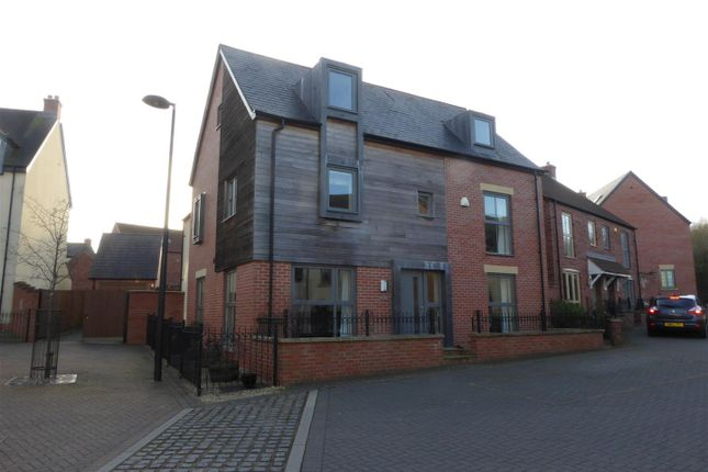 Thumbnail Detached house for sale in St. Johns Walk, Lawley Village, Telford