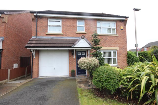 Thumbnail Detached house for sale in Redfield Croft, Leigh