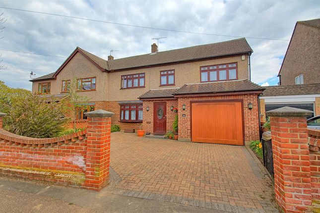 4 bed semi-detached house for sale in Cozens Road, Ware SG12