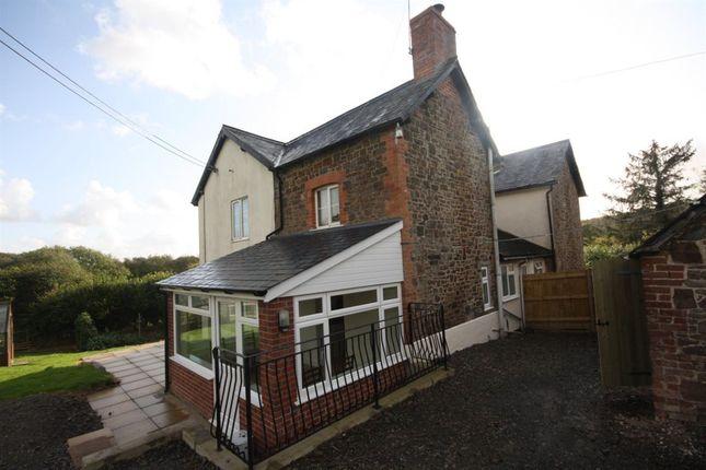 Thumbnail Property to rent in East Barn Down Cottage, Torrington, Devon