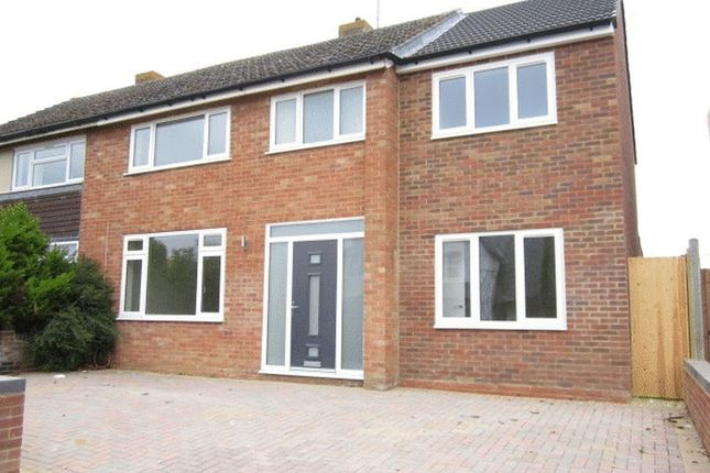 Thumbnail Semi-detached house to rent in Two Hedges Road, Bishops Cleeve, Cheltenham