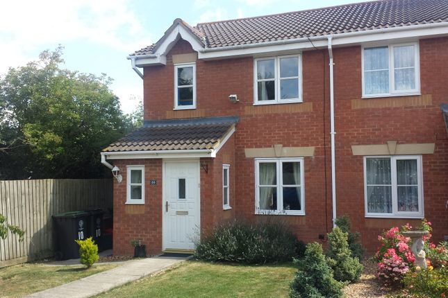 Thumbnail Semi-detached house for sale in Cheltenham Close, Rushden