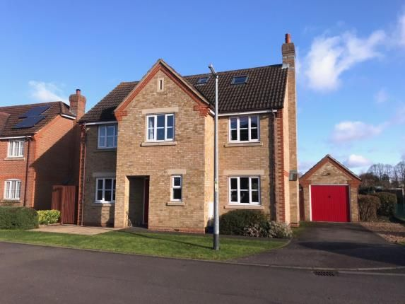 Thumbnail Detached house for sale in Pound Close, Upper Caldecote, Biggleswade, Bedfordshire