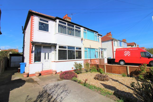 Thumbnail Semi-detached house for sale in Cumberland Avenue, Cleveleys