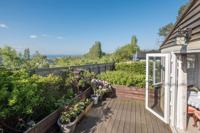 Detached bungalow for sale in Upper Horn Hill, Rew Street, Gurnard, Isle Of Wight