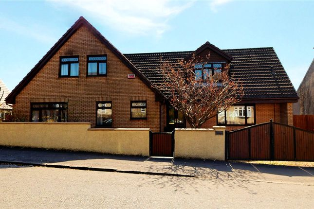 Thumbnail Detached house for sale in Airdriehill Street, Airdrie, North Lanarkshire