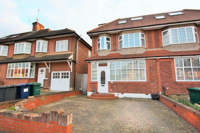 Thumbnail Semi-detached house for sale in Chanctonbury Way, Woodside Park