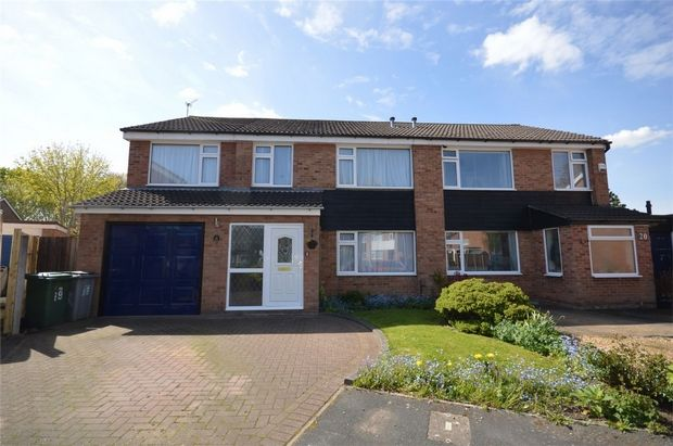 Thumbnail Semi-detached house for sale in Donne Close, Spital, Merseyside