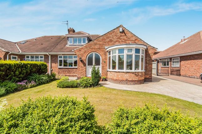 Thumbnail Semi-detached bungalow for sale in Claremont Drive, Hartlepool