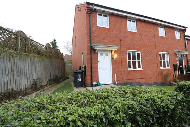 Thumbnail End terrace house for sale in Maye Dicks Road, Rushden