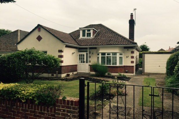 Thumbnail Bungalow to rent in Northbourne Avenue, Bournemouth