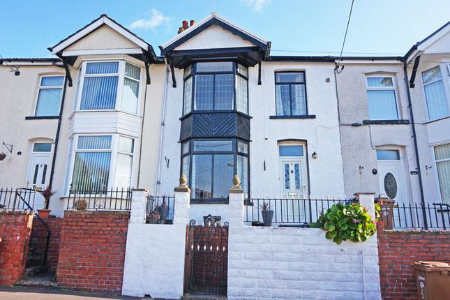 Thumbnail Terraced house for sale in Beech Embankment, Ystrad Mynach