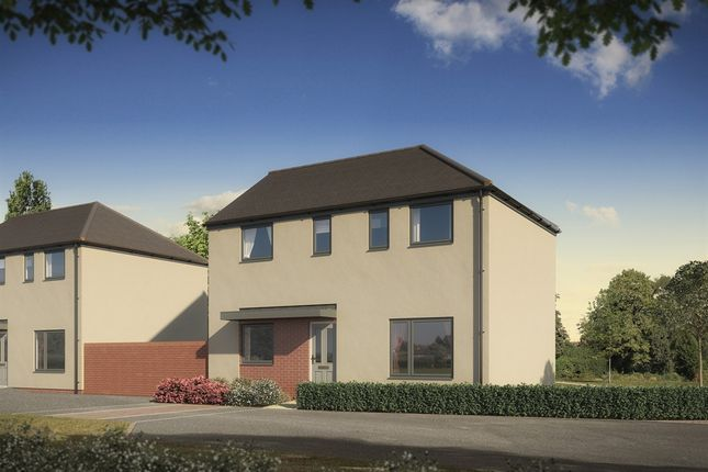 """Thumbnail Detached house for sale in """"The Clayton"""" at St. Catherine Road, Basingstoke"""