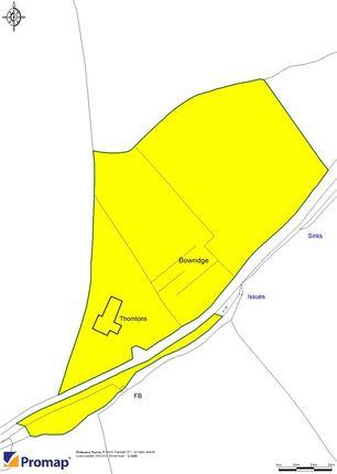 Site Plan of Bowridge Hill, Gillingham, Dorset SP8