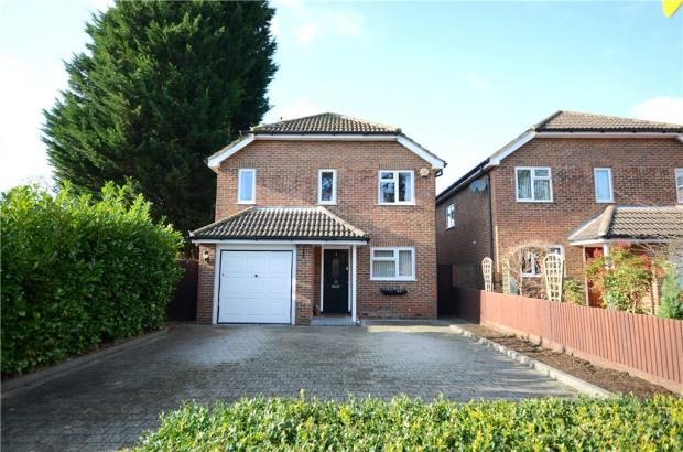 Thumbnail Detached house for sale in Albion Road, Sandhurst, Berkshire