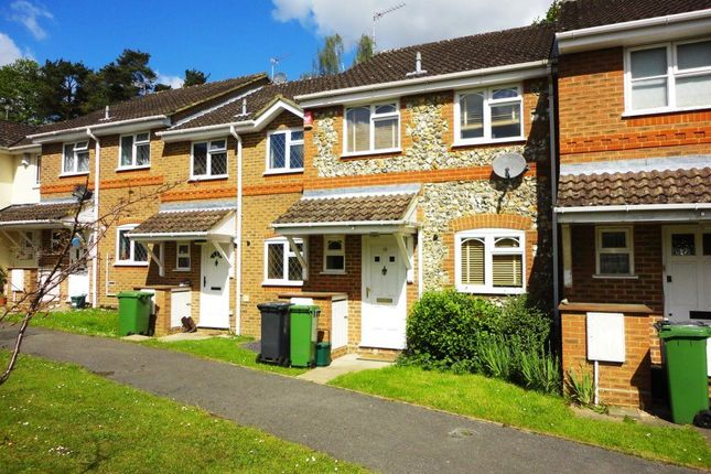 Thumbnail Terraced house to rent in Corbett Drive, Lightwater