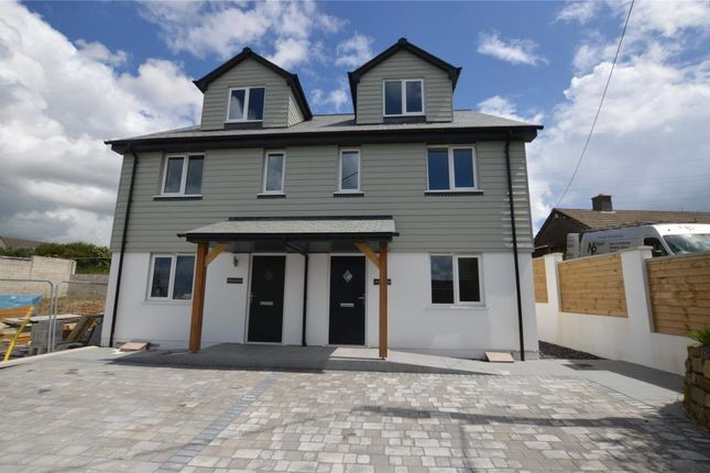 Thumbnail Semi-detached house for sale in St. Enoder View, My Lords Road, Fraddon, St. Columb