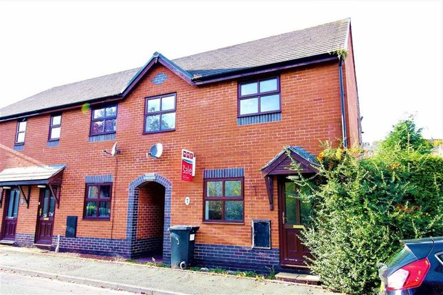 Terraced house for sale in 3, Gungrog Court, Welshpool, Powys