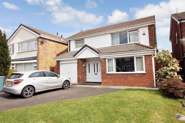 Thumbnail Detached house for sale in Skegness Close, Bury